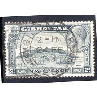 Гибралтар.Ми-99. Мыс Гибралтар и король Георг V. 1933.
