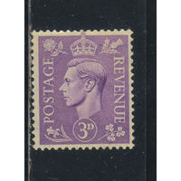 Великобритания 1941 GVI Стандарт #226*