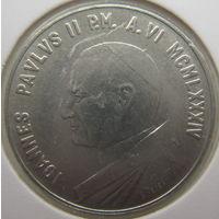 Ватикан 10 лир 1984 г. В холдере (gk)