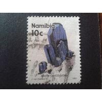 Намибия 1991 минерал азурит