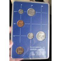 Нидерланды годовой сет монет 1986 в банковской пластиковой упаковке - UNC