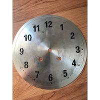 Циферблат от старинных настенных немецких часов! Начало 20-го века, 20-30 годы!