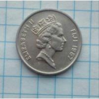 Фиджи 5 центов 1987г.