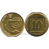 Израиль 10 агорот 1989