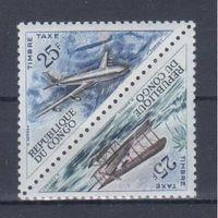 [2056] Конго 1961. Авиация.Самолеты.