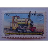 Намибия.1995.паровоз