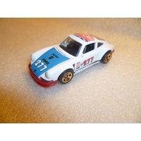 Модель авто PORSCHE 911. Mattel-HotWheels. масштаб 1:59-60.