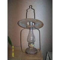 Лампа старинная керосиновая подвесная