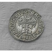 1 грош 1540 г Гданьск Сохран