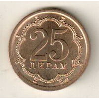 Таджикистан 25 дирам 2006