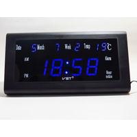 Настольные, Настенные Сетевые LED часы VST-795W