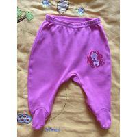 Ползунки (штанишки) для новорожденной р.50-56