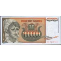 100 000 динаров 1993г. UNC