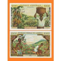 [КОПИЯ] Камерун 1000 франков 1961-62 г.г. (Образец)