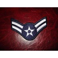 Нашивка рядовой авиации 1-го класса ВВС США 100% оригинал