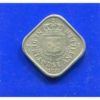 Антильские острова 5 центов 1971