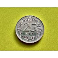 Турция. 25 курушей 2009. (2).