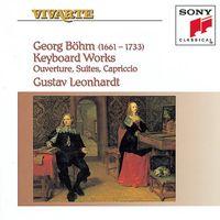 Bohm. Keyboard Works - Gustav Leonhardt (Audio CD - 1993)