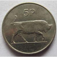 Ирландия 5 пенсов 1970