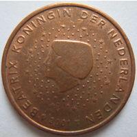 Нидерланды 5 евроцентов 2001 г.