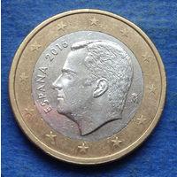 Испания 1 евро 2016