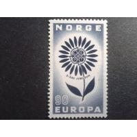 Норвегия 1964 Европа полная