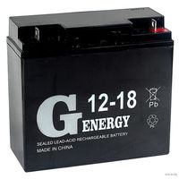 Аккумулятор Genergy 12V 18A/h