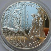 """Центральная Африка (BEAC) 1000 франков 2004 год  KM#23  """"Чемпионат мира по футболу 2006"""""""