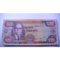 Ямайка 20 долларов 1995г.    распродажа