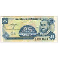 Никарагуа, 25 сентаво, A/E 7203868, UNC