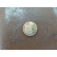 2 цента 1973 Острова Кука