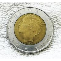 500 лир 1987 Италия #01