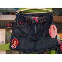 Юбки  для девочек,100%хлопок в ассортименте