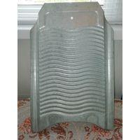 Стиральная доска СССР. Оцинкованный металл. 50х33 см.