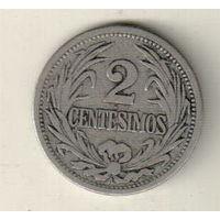 Уругвай 2 сентесимо 1909