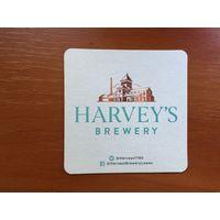 Подставка под пиво Harveys Brewery /Великобритания/