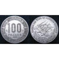 W: Центральная Африка 100 франков 1998, центральные африканские штаты (320)