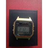 Часы Электроника с 1 рубля без мц!! (лот7)
