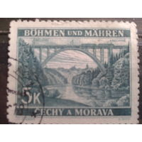 Богемия и Моравия 1940 Мост