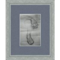 Рисунок, карандаш, рука, нога 90-е