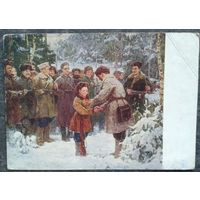 Смукрович П. За боевые заслуги. Дети. 1954 г. Подписана.