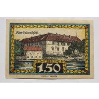 Германия (Notgeld) 1,5 марки 1921 год. (#21)