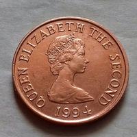 1 пенни, Джерси 1994 г., AU