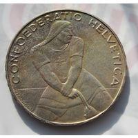 Швейцария, 5 франков, 1939, серебро