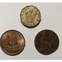 Сборный лот монет Великобритании