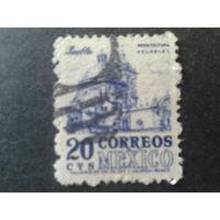 Мексика 1950 стандарт 20 с