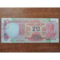Индия 20 рупий 1997 UNC