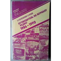 """Путеводитель по журналу """"Радио"""" 1986-1990"""