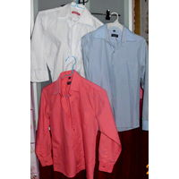 Рубашки р. 122, 128-134, 134-140