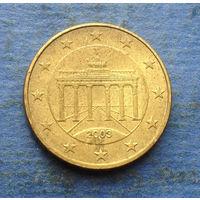 Германия 10 евроцентов 2003 J